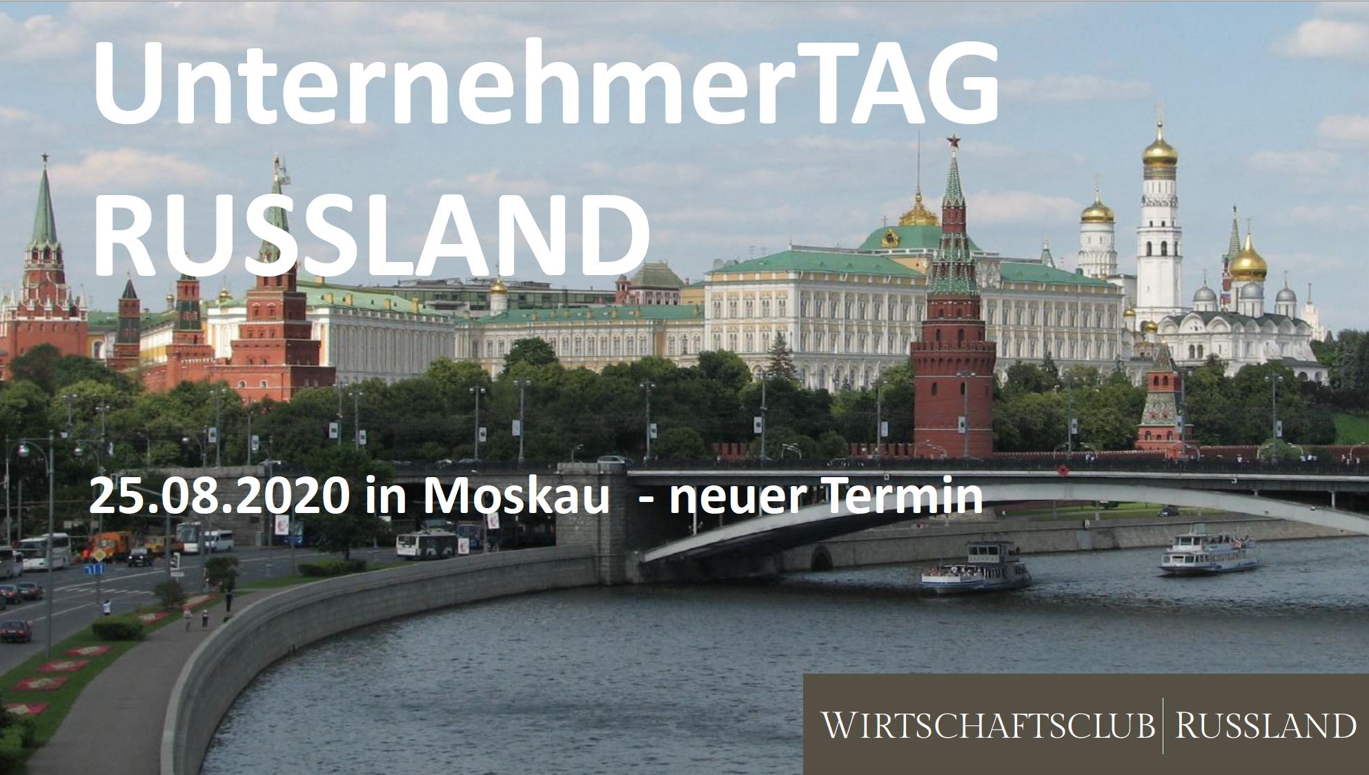 Moskau: 30.9.2020 - Unternehmertag Russland