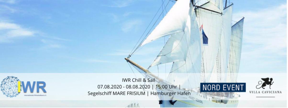 Hamburg: 7.-8.8.20 - IWR Chill & Sail
