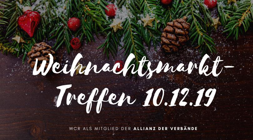 Berlin: 10.12.19 - Weihnachtsmarkt Treffen - Allianz der Verbände